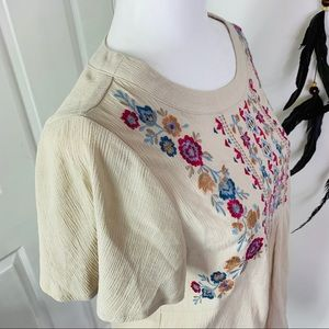 Knox Rose Tops - 🔥Knox Rose Flower Embroidered Blouse